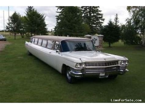Classic Limo by Used 1964 Cadillac Fleetwood Antique Classic Limo