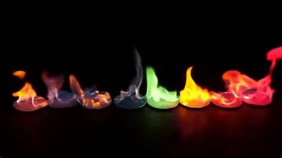 Fire Flame Different Chemicals Gifs Giphy Colors
