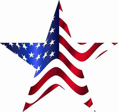Flag American Star Clipart Svg