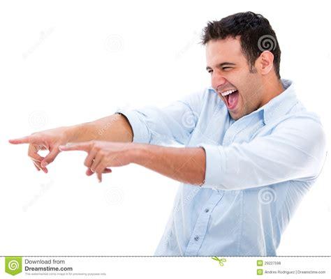 Man making fun Of Something Stock Photo Image 29227598