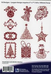 Floriani Thread Chart Floriani Embroidery Design Collection Victorian Christmas