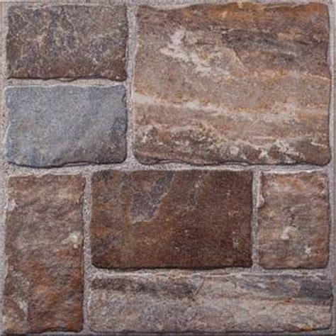 Cobblestone II 20 in. x 20 in. Ceramic Floor Tile 9658