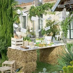 Une table de fête champêtre - Marie Claire