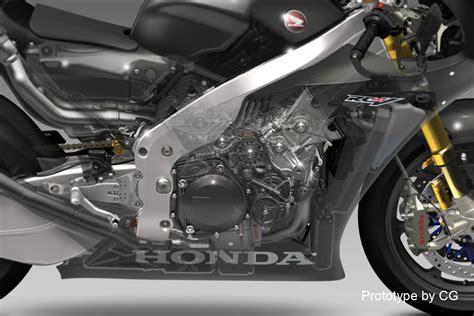 Honda's V4 Fireblade