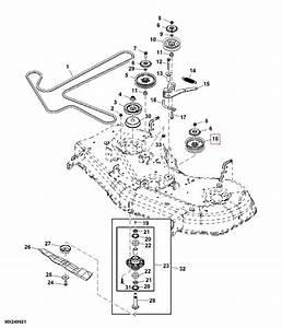John Deere Zero Turn Mower Deck Idler Pulley - Fits Z425  U0026 Z445