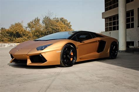 Lamborghini Aventador  Prism Gold  Global Wallpapers