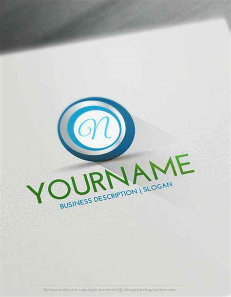 logo maker create  spiral logo design