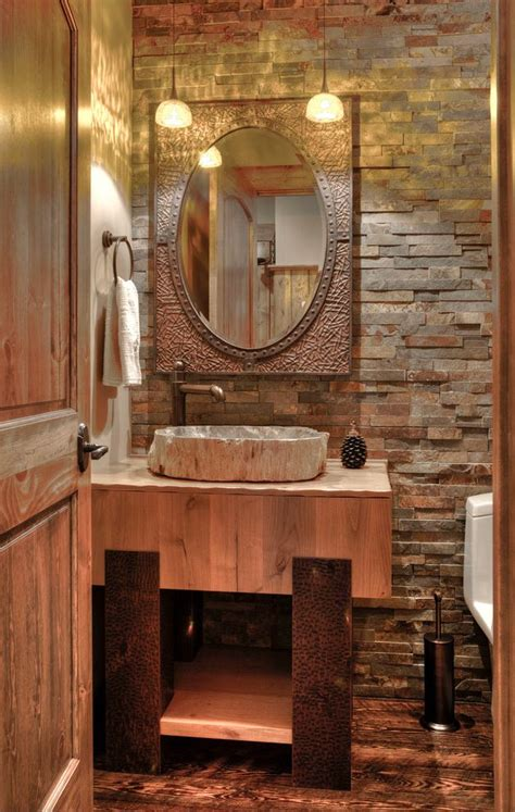half bath powder room rustic with pendant lights single sink bathroom vanities tops