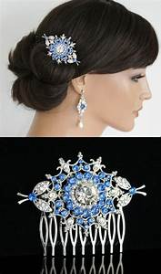 Something Blue Wedding Hair Accessories Bridal Hair Comb