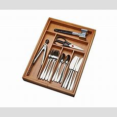 Kitchen Drawer Organizer, Adjustable Drawer Dividers To