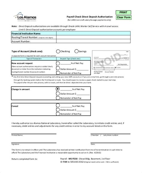 payroll check template blank check template 7 free pdf documents free premium templates
