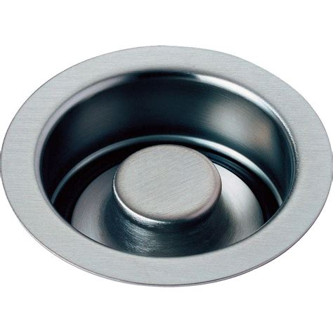 kitchen sink drain flange delta 4 1 2 in kitchen sink disposal and flange stopper