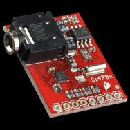 dr monk s diy electronics blog new arduino library for sparkfun si4703 fm receiver breakout board