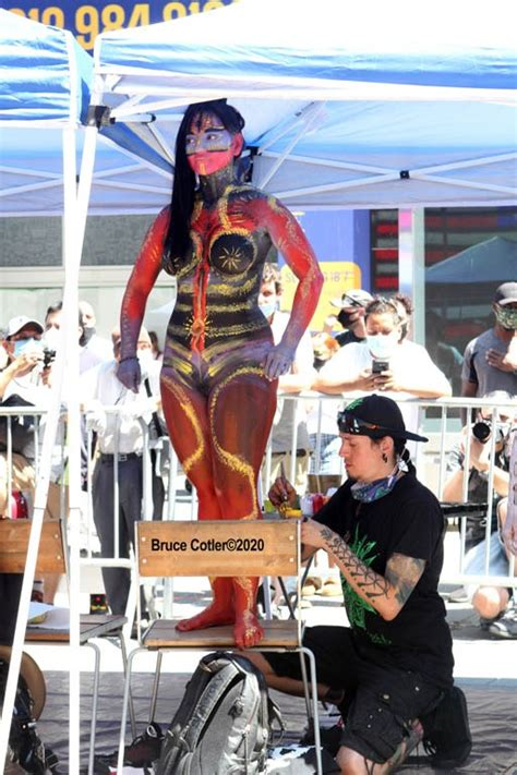 annual nyc body painting day  times square ny photographers today