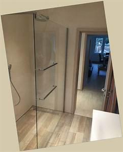 Handtuchhalter Für Dusche : walk in dusche panther glas ~ Indierocktalk.com Haus und Dekorationen
