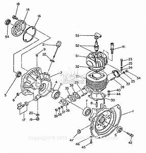 Robin  Subaru Ec10d Yamamoto Parts Diagram For Crankcase  Cylinder