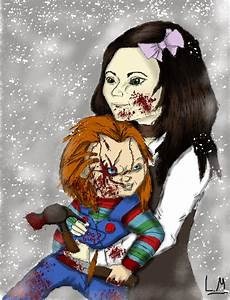Chucky and Esther: Playing in the snow by Laquyn on DeviantArt