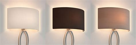 wall lights material shades astro lima fabric half lshade only for wall light with e27 es shade ring ebay