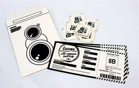 creative ticket designs   great mementos hongkiat