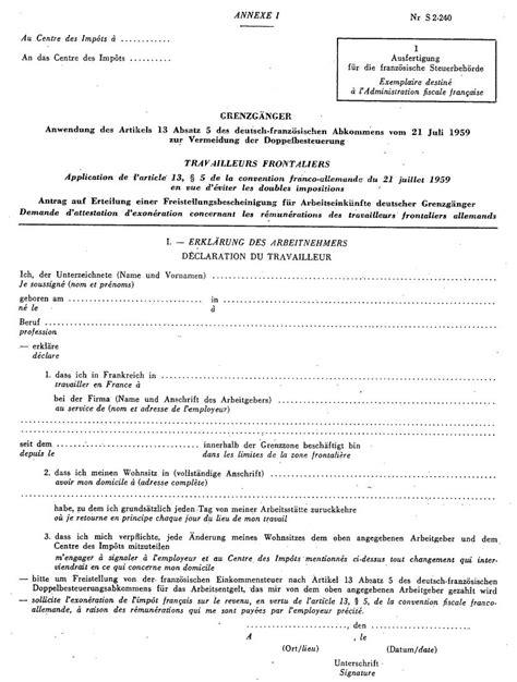 modèle attestation en anglais formulaire int demande d exon 233 ration de l imp 244 t