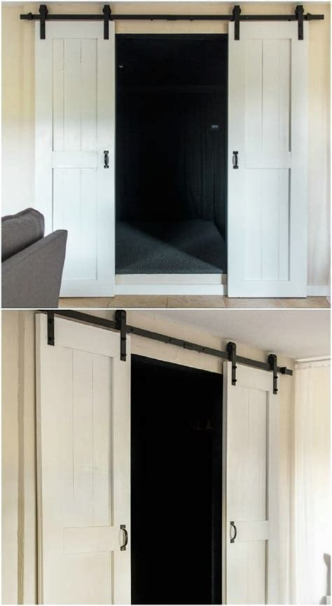 Farmhouse Design: 15 DIY Barn Door Projects   Style Motivation
