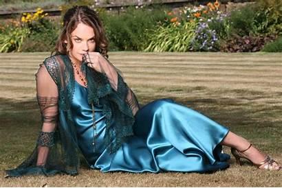 Ruth Wilson Photoshoot Wallpapers Satin Dresses Silk