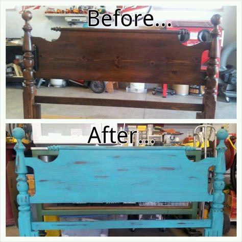 bimini cottage paintheadboard  footboard junk