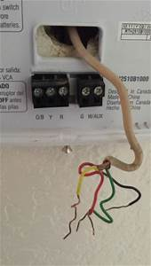 Honeywell Thermostat Rth2510 Wiring Question Etc
