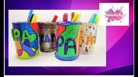 diy pot 224 crayons recycl 233 cadeau f 234 tes des p 232 res activit 233 pour enfants