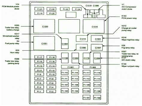 Wiring Diagram For A 1997 Ford F 250 by Ford F 250 1997 Electrical Diagram Wiring Forums