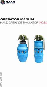 Saab Defense And Security Usa Hgs2 Hand Grenade Simulator