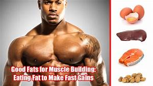 Good Fats For Muscle Building  Eating Fat To Make Fast Gains