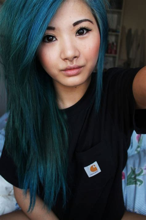 My Hair Was Dyed That Kinda Color Earlier This Summer