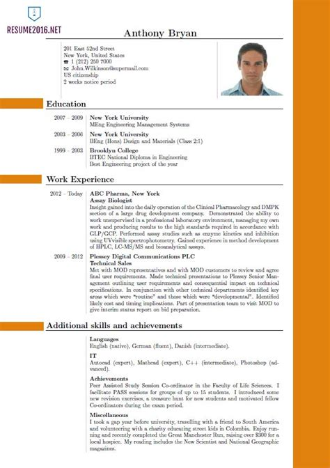 The Best Resume Template by Best Resume Format 2016 Which One To Choose In 2016