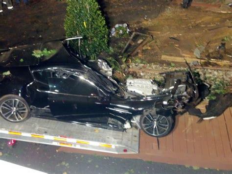 Martin Crash by Aston Martin Crashes Into Tree On Holmdel Road Holmdel
