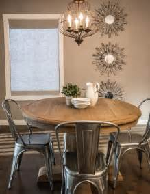 rustic chic rustic dining room calgary by alykhan velji design