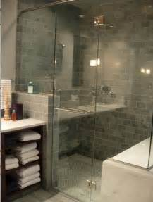 gray tile bathroom ideas blue gray subway tiles contemporary bathroom