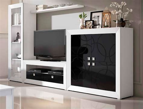 Mueble de salón modular moderno lacado (2452) Factory
