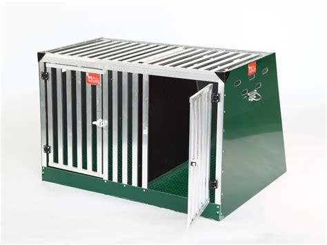 gabbia cani auto gabbie per cani da auto a box doppio maxi v3 retex