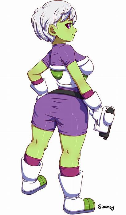 Cheelai Fanart Newgrounds Dragon Ball Fan Characters