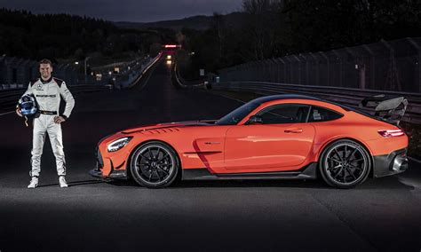 Uncompromisingly sporty, with an expressive design and the the amg gt black series represents a new highlight in this tradition: Mercedes-AMG GT Fastest Production Car at Nurburgring - » AutoNXT