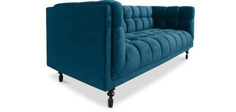 Divano Blu Ikea :  Divano Letto Velluto Blu Divano Di Velluto Blu