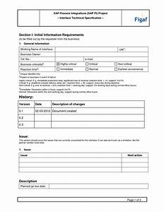 functional specification document template 28 images With report specification document template