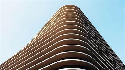 Architecture Modern Building Wallpapers Desktop Minimal 4k