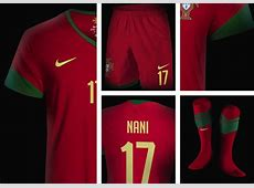 Portugal New Kit Home & Away For FIFA World Cup 2014