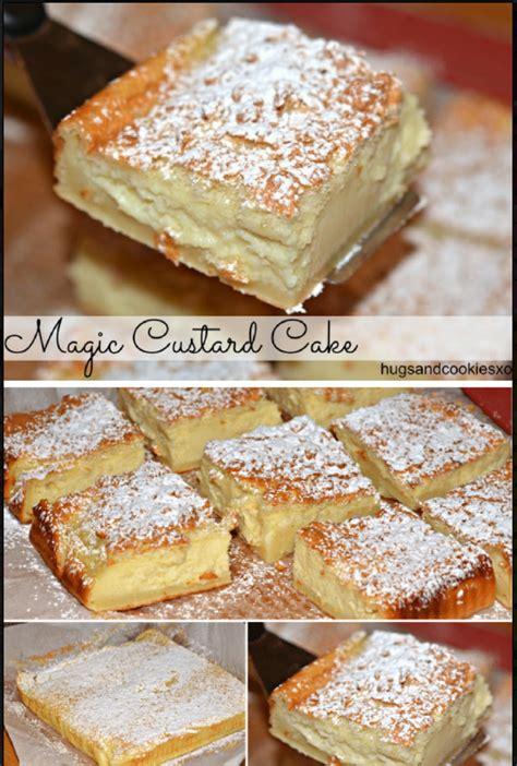 magic custard cake  kitchen