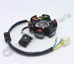 Magneto Stator 6 Pole Coil 5 Wire 50cc 70cc 90cc 110cc