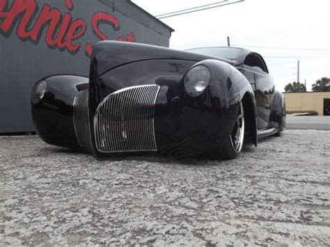 1940 Lincoln Zephyr  Zlivery  2d  Custom For Sale In