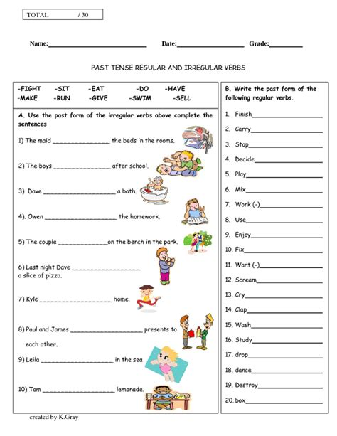 1 044 free past simple worksheets
