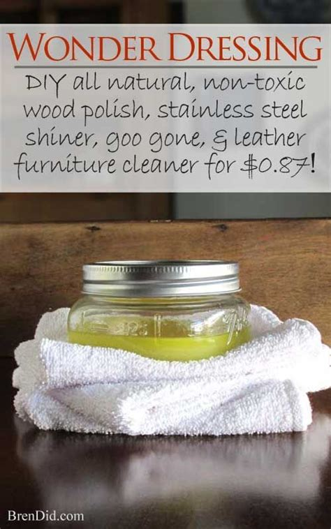 natural furniture polish cleaner recipe